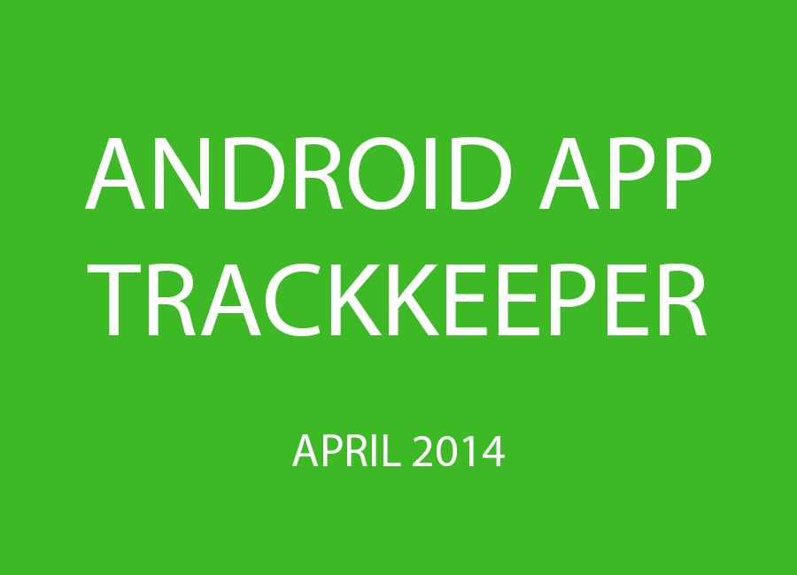 Android applicatie trackkeeper